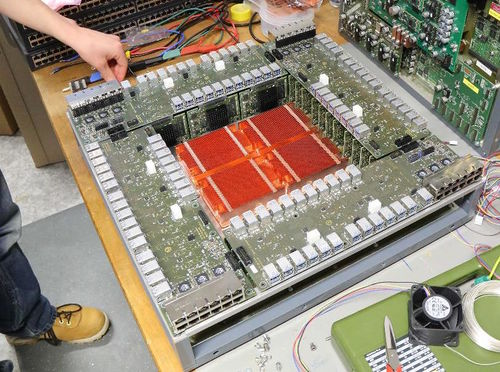 one system, equipped with all FPGA boards